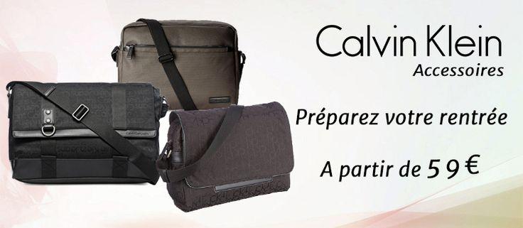 Rentrée Calvin Klein avec Placedubonheur.com - 59€ le sac messenger