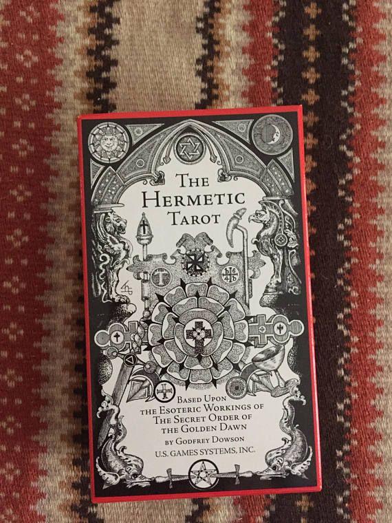 The Hermetic Tarot Hermetic Tarot Deck Hermetic Tarot Cards