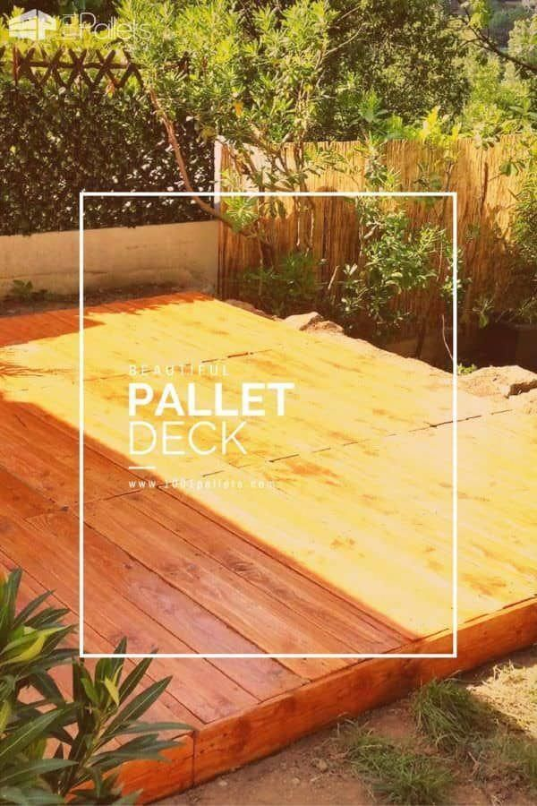 Repurposing Or Salvaging Wooden Pallets Into Indoors Or Outdoors Furniture Has Become Well Known With Pe Pallet Decking Pallet Furniture Outdoor Pallet Outdoor