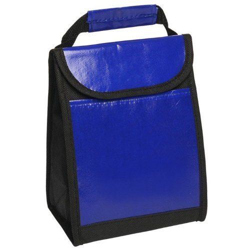 "Laminated Non-Woven Lunch Bags with Front Pocket, Blue by BAGS FOR LESSTM by Bags For Less. $8.49. Blue. Instulated Inside, Foil Laminated PE Foam Insulation. Made of 80 GSM Laminated Non-Woven Polypropylene + Coated Water Resistant Polypropylene. 7"" W x 9.5"" H x 4"" D. Velcro closure, Laminated Web Carrying Handle, Front Pocket. BAGS FOR LESSTM  These Lunch Bags have come a long way from the old square lunch boxes. Oozing with high-quality features, this bag is perfect for ..."