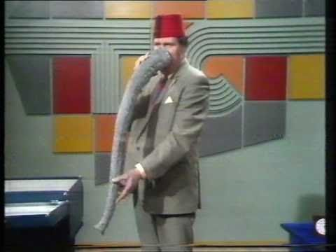 "Tommy Cooper - his ""Nose"" routine - YouTube"
