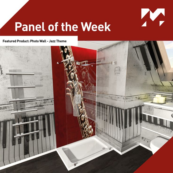 Panel of the Week!  This week our featured #paneloftheweek is our Create Range - Photo Wall.  Let's just say we were feeling Jazzy! #Jazz