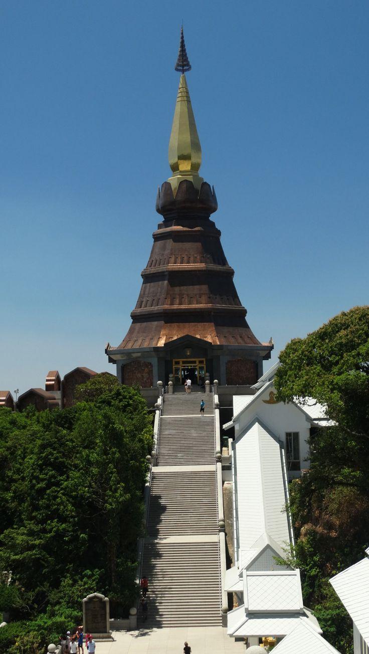 The King's Pagoda, Doi Inthanon, Thailand.