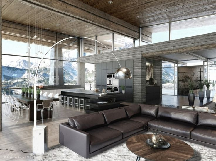 Дизайн уютных гостиных комнат - Масштаб