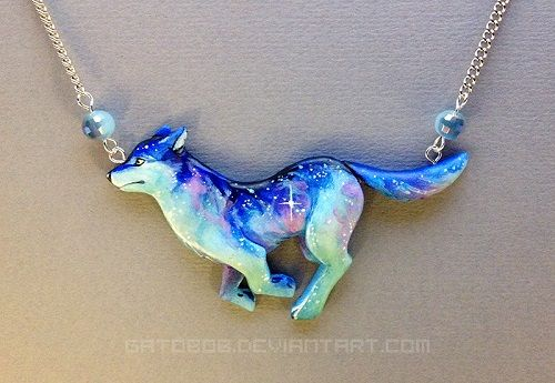 Painted Wearable Polymer Clay and Resin Sculptures by Gatobob ~ The Beading Gem's Journal