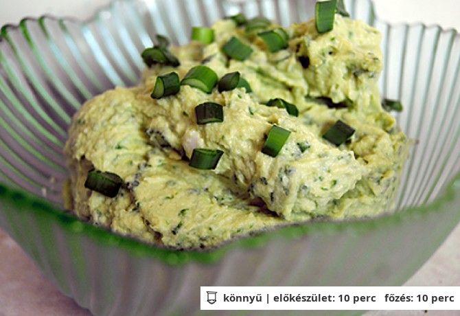 Medvehagymás tojáskrém | NOSALTY – receptek képekkel