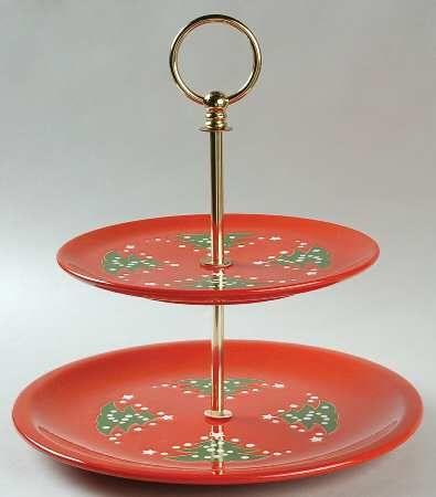Waechtersbach Christmas Tree Dishes
