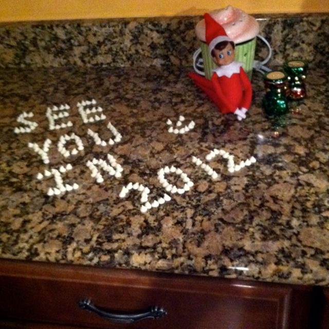 Our Elf will be back in 2012.