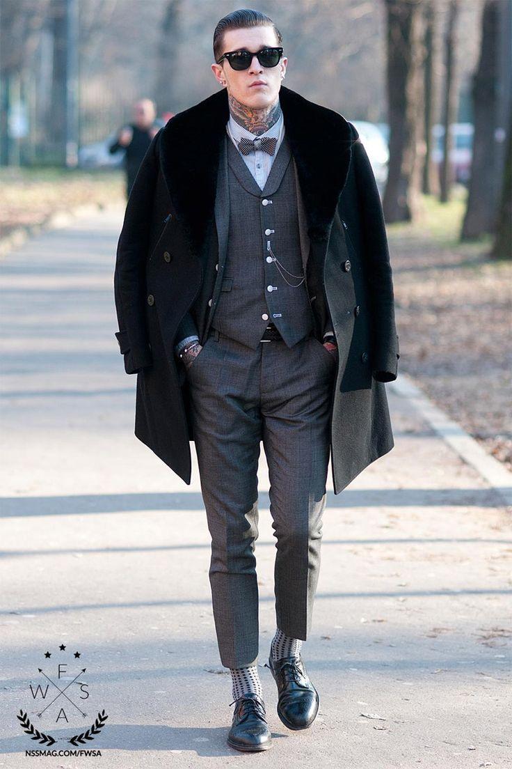 Brown Shoes Fashion Men Winter