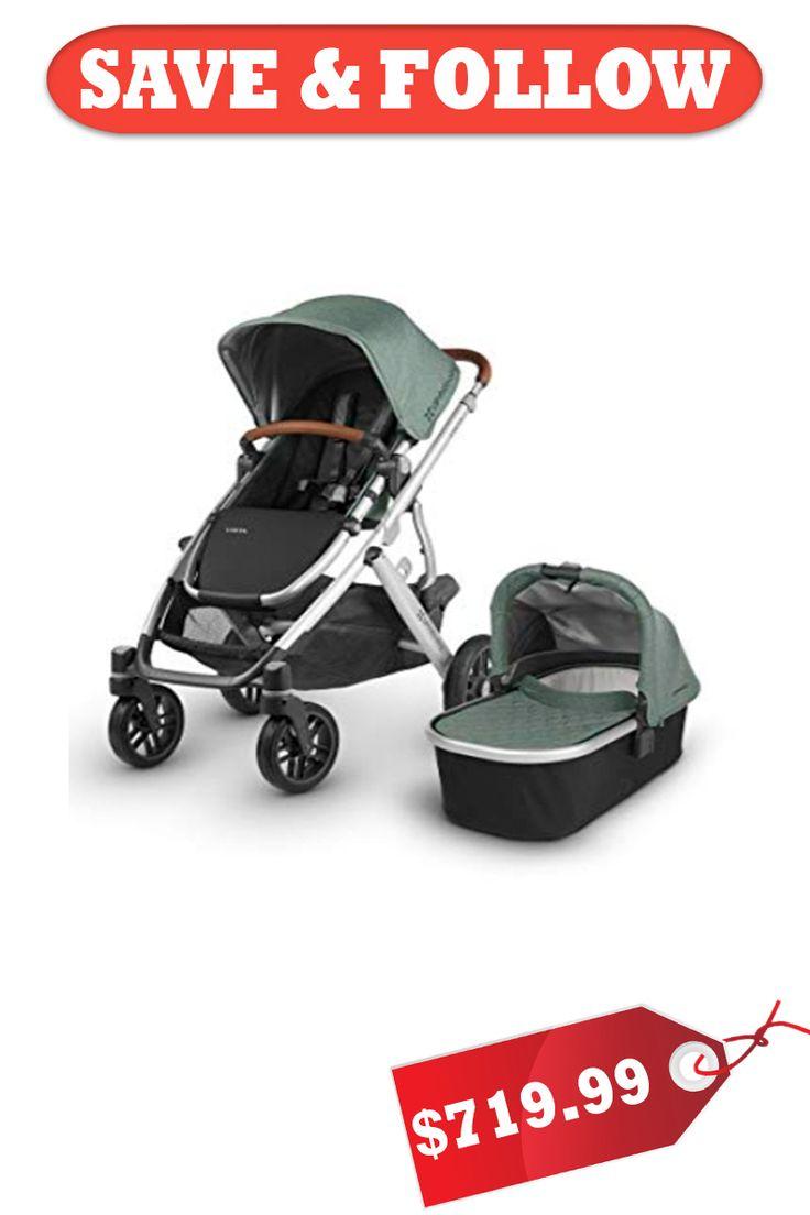 2020 UPPA baby Vista Stroller Emmett (Green Melange