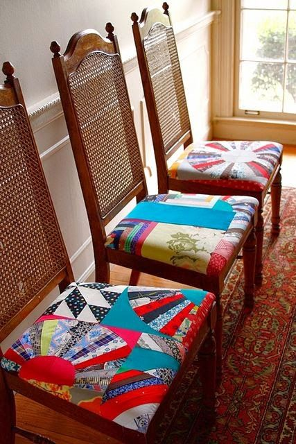 9 Best Images About Quilted Chair Cushions Coverings On Pinterest Upholster