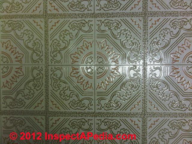 Photo guide for Asbestos Tiles