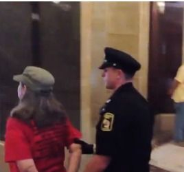 Scott Walker Has 3 Grannies and a 14 Year Old Girl Arrested for Singing In Wisconsin