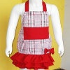 Ruffled Apron for Girls | AllFreeSewing.com