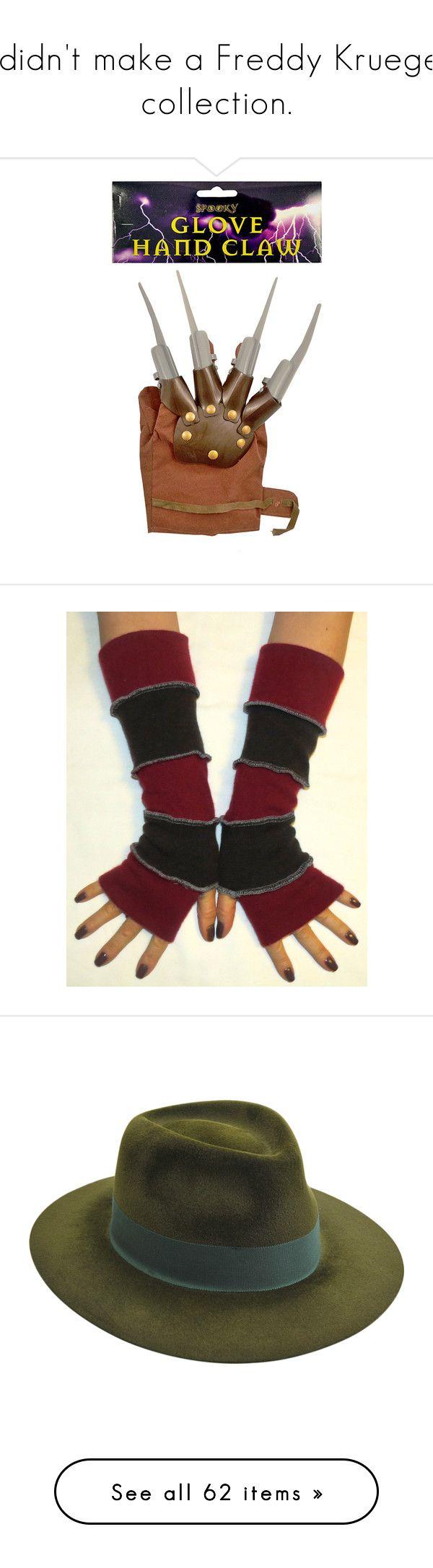 Fingerless gloves edmonton -  I Didn T Make A Freddy Krueger Collection By Shulabond On Polyvore Wool Glovesfingerless