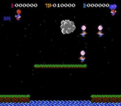 Игра Balloon Fight для NES / Dendy (обзор и прохождение)