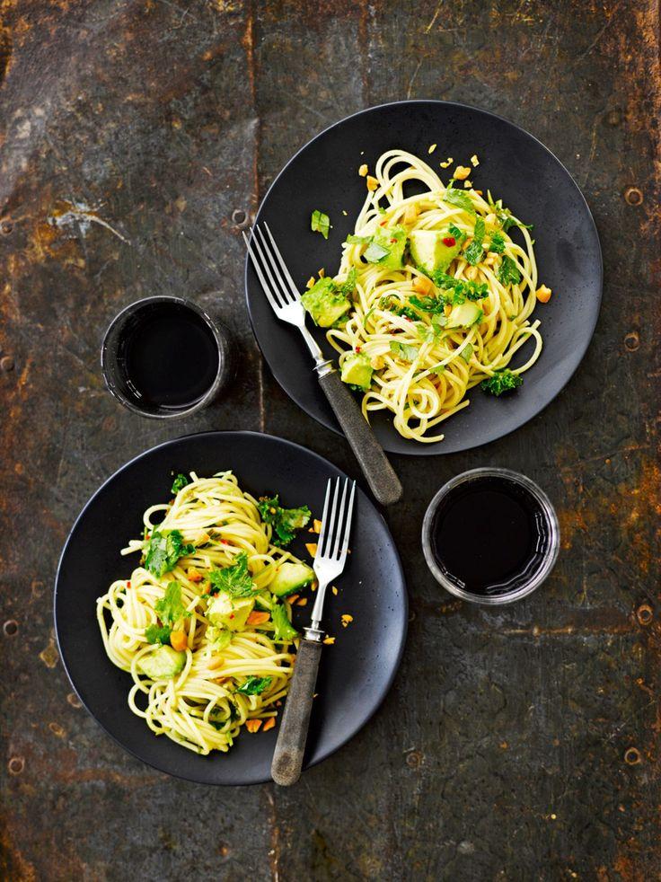 Krabin pasta on aasialainen muunnelma avokadopastasta.