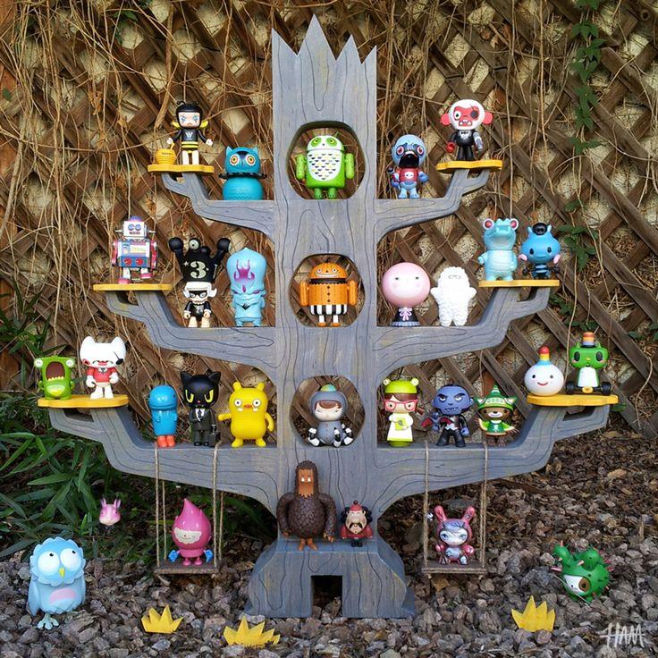 Gary Ham treehouse display is killer