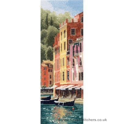 Portofino - John Clayton Internationals Cross Stitch Kit from Heritage Crafts