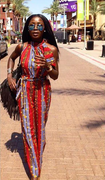 Ankara Street Style of The Day-June Damey 1