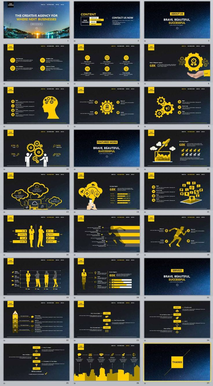 27+ creative agency professional powerpoint templates | PowerPoint Templates and Keynote Templates