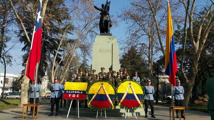 Desde Chile nuestros colegas envían este fraternal saludo en nuestro aniversario de independencia. #20DeJulio #SomosColombia