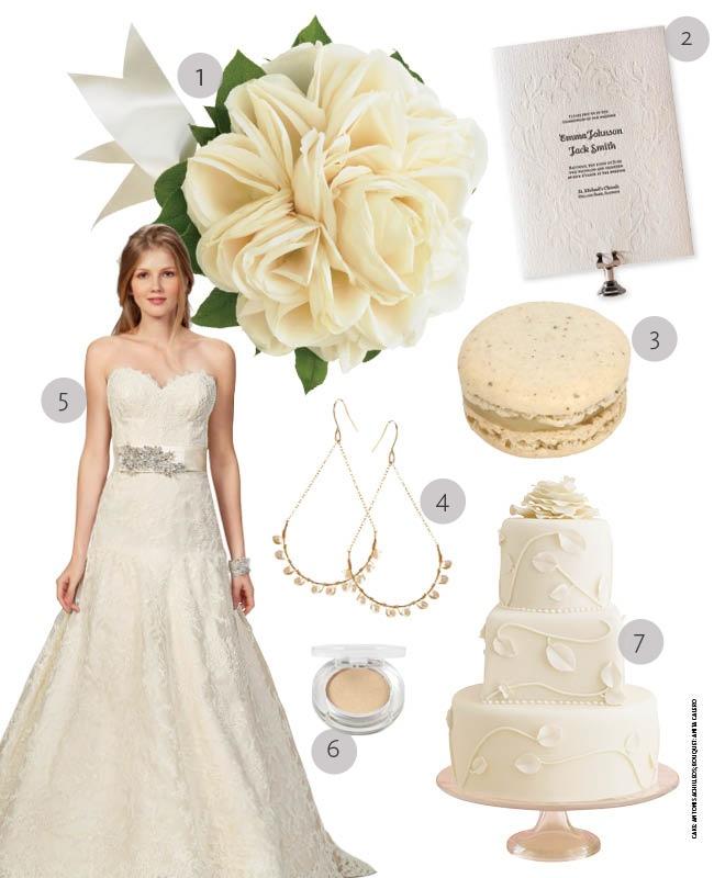 Classic Cream Wedding Ideas