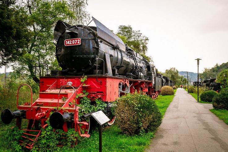The most powerful steam locomotive in the CFR's fleet