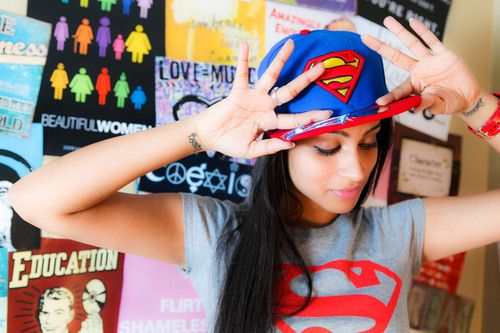 IISuperwomanII I love her videos (even if I only started watching her recently) she's talks about relatable things and talks about them in a hilarious way!