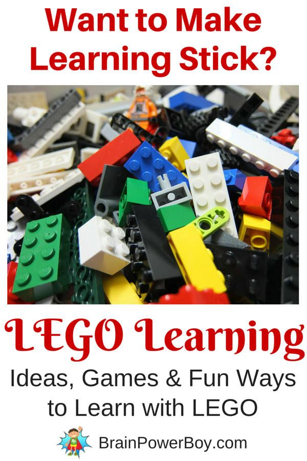 Click to see this page full of wonderful LEGO Learning Ideas. LEGO games, ideas that help kids learn.