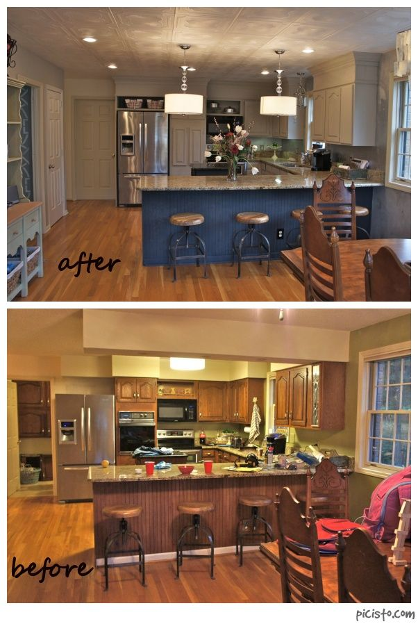 Painted Cabinets Nashville TN Before and After Photos ...