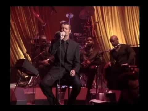 Music Video of George Michael ~ I Can't Make You Love Me.  He has the most haunting and beautiful voice.