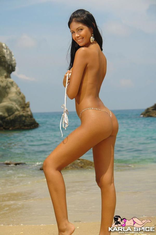 Latino nude girls on the beach
