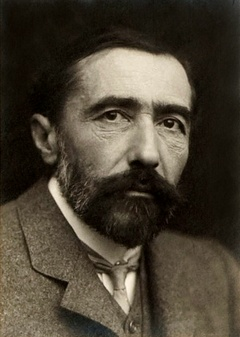 Joseph Conrad--more brilliant because for this great English novelist, English was his second language.