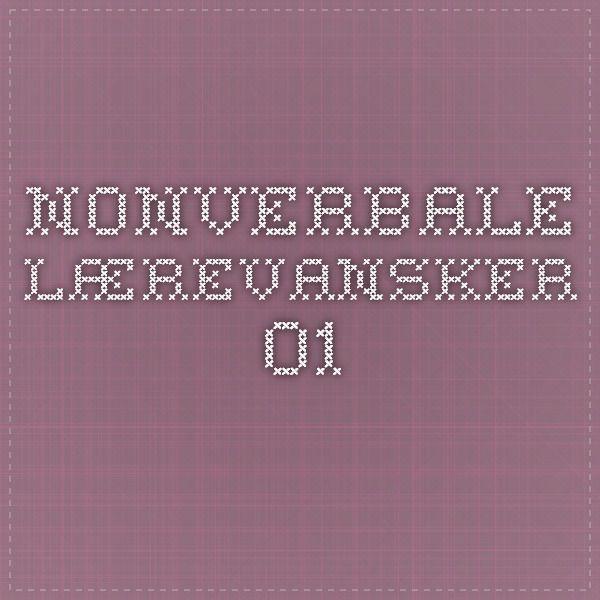 Nonverbale lærevansker 01