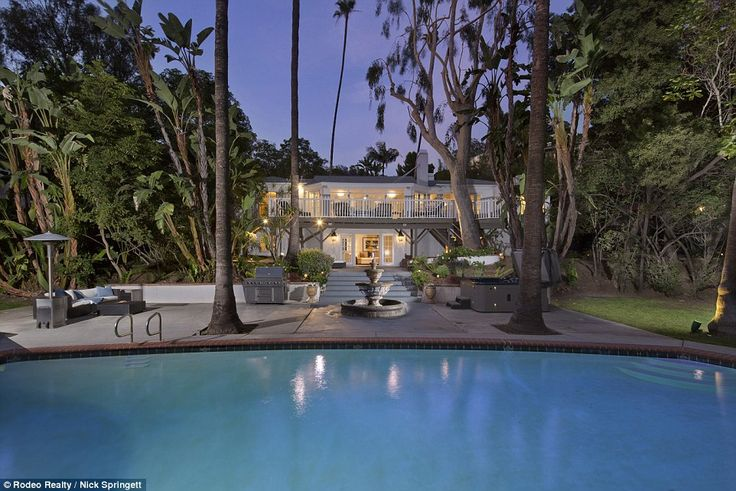 The recently listed $3.495 million Hollywood Hills estate was actor Marlon Brando's first home in Los Angeles