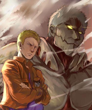 Le titan Cuirassé - L'attaque des Titans