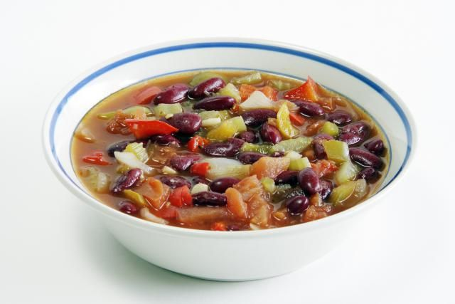 This traditional Russian kidney soup (rassolnik or rassoljnik) is considered to be a hangover cure. It gets its tang from pickles and tart sorrel.
