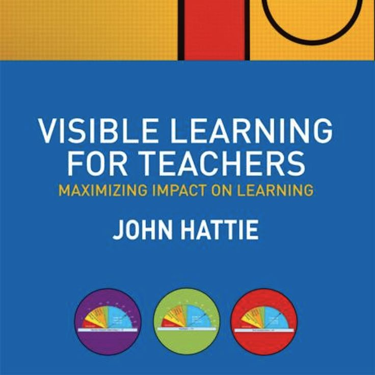 Visible Learning for Teachers draws on the findings of John Hattie's ground-breaking meta study Visible Learning (2009). Hattie's follow up book concentrates on the underlying story behind the data and provides many hands on examples for Visible Learning in the…Read more ›
