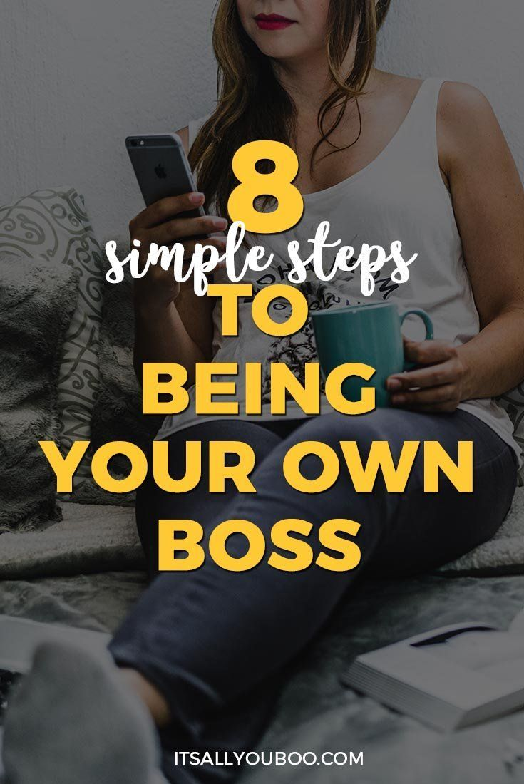 Want to be your own boss? Wonder how to be an entrepreneur like other successful women with online businesses who work from home or anywhere? Click here for 8 Simple Steps to Being Your Own Boss. Plus, plan your escape with the FREE Printable Strategic Planning Workbook.