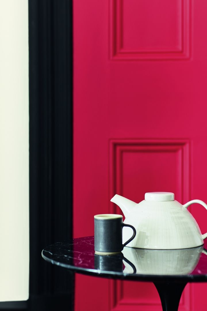 80 best Red interior | Rood interieur images on Pinterest ...