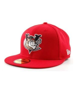 New Era Tri-City ValleyCats MiLB 59FIFTY Cap - Red 7 3/8