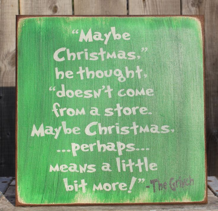 The Grinch sign, made by The Primitive Shed, St. Catharines