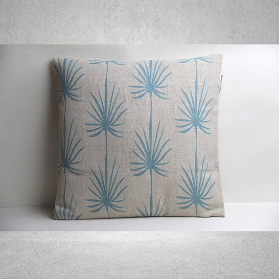Palm Tree Pillow Cover, Pillow Cover, Decorative Pillow Cover, Pillow Case, Cushion Cover,Linen Pillow Cover,Throw Pillow,18x18 Pillow Cover