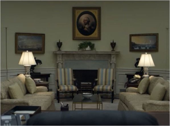 House Of Cards Oval Office Fireplace