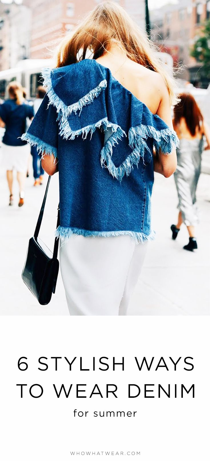 Your complete guide to summer denim