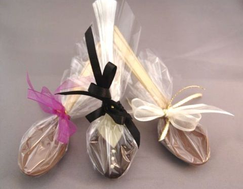 Spoons (Flavoured) - $1.95 - Spoons dipped in delicious chocolate
