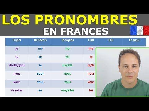 Pronombres en frances.Gramatica francesa - YouTube