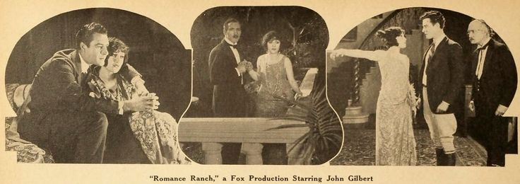 """The Moving Picture World – June 21 1924: John Gilbert and Virgina Brown Faire in """"Romance Ranch"""""""