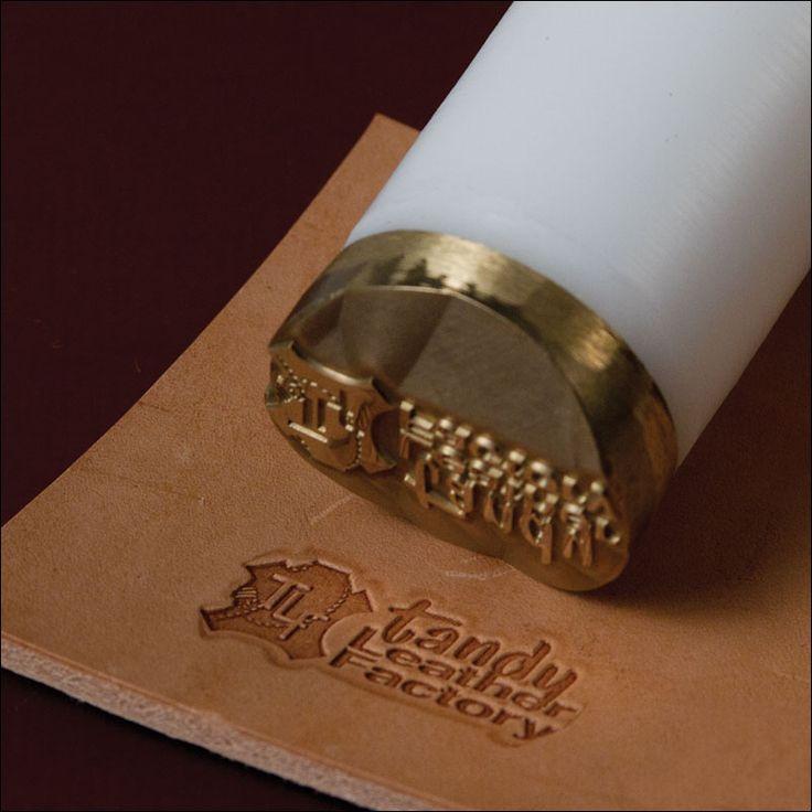 "Custom Design Leather Stamp 1-7/8"" (51 mm)"